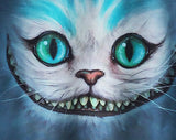 Alice in Wonderland 3D T-Shirt Printed Cheshire Cat