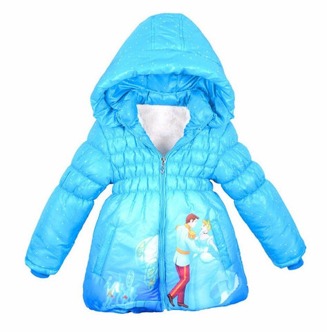Baby Girl's Winter Coat Cinderella