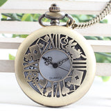 Alice in Wonderland Theme Card and Rabbit Pocket Watch