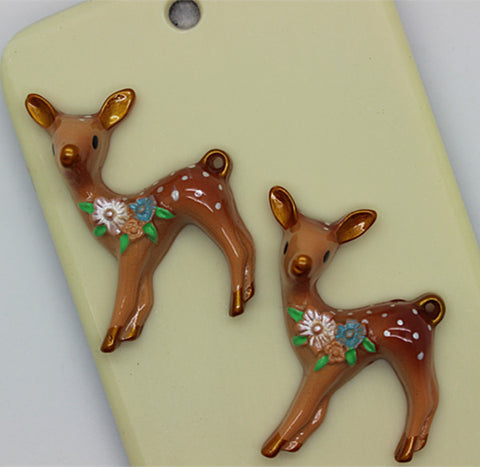 Bambi Resin Cabochon DIY Decorative Craft