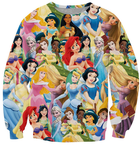 Disney Princess Sweatshirts