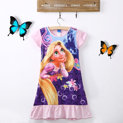 Tangled Rapunzel Princess Dress for 6-16T