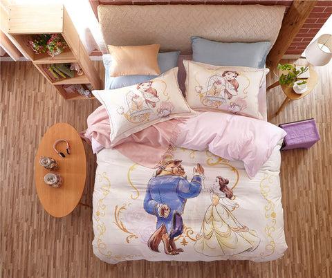 Beauty and the Beast Bedding Set