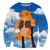 Baby Simba Crewneck Sweatshirt The Lion King