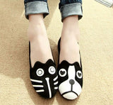 Cat and Dog Slip-On For Women