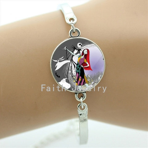 Jack Skellington & Sally Dancing Bracelets