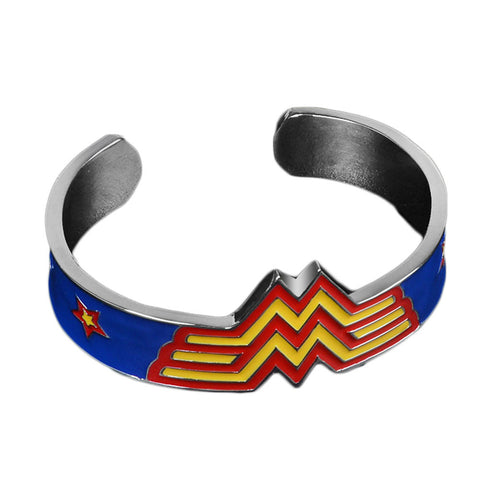 Wonder Woman Cuff Metal Bracelet Bangles