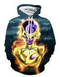Dragon Ball Frieza Printed Hoodies