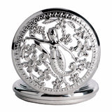 The Little Mermaid Pattern Vintage Pocket Watch