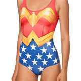 Swimsuit Wonder Women Sexy Sleeveless Beach
