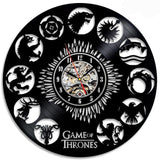 Game of Thrones Vinyl Wall Clock