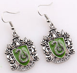 5 Styles HP Hogwarts, Ravenclaw, Hufflepuff, Gryffindor, Slytherin Earrings