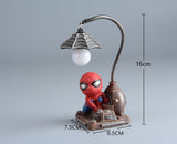 Bedroom Decoration, Learning Lamp Spider Man