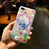 3D Phone Case Cute Disney Princess For iPhone