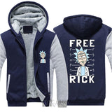 Rick and Morty Hoodie Jacket