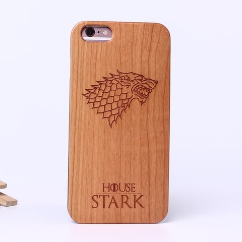 Game of Wood Phone Case Cover For iPhone, Samsung