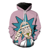 3D Rick and Morty Acid Trip Hoodies