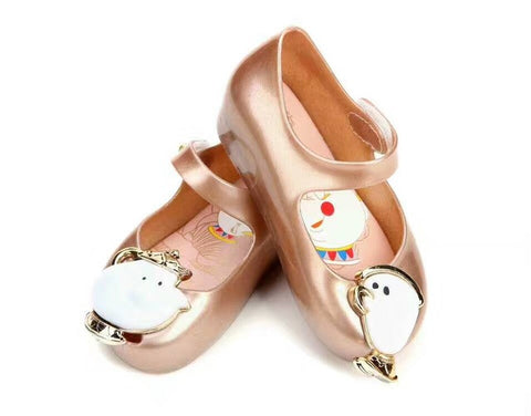 Beauty and The Beast Sandals Mini Melissa Shoes for Kids