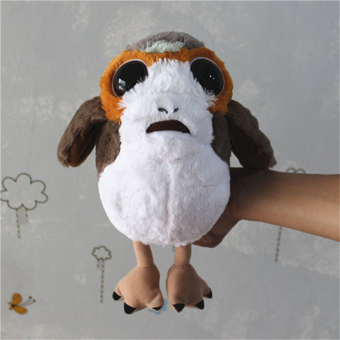 1 piece star wars 8 new Porg bird Plush Toys Doll For kids Gifts&birthday star wars fans collection toys