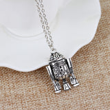 Star Wars Robot Pendant Necklace