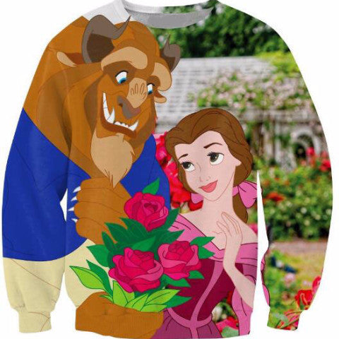 Beauty and the Beast Crewneck Sweatshirt