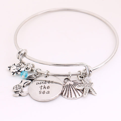 """Under the sea"" Mermaid Bangles"