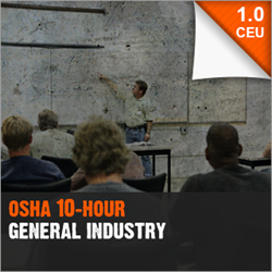 OSHA 10-Hour General Industry (OSHA10 GI)