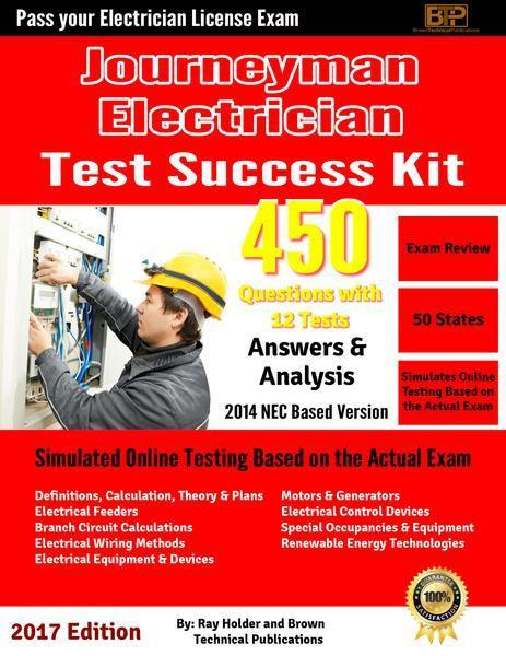Ray Holder's 2014 Journeyman's Electrician Licensing Tests; Online Course