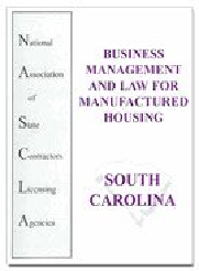 South Carolina NASCLA Business Management and Law for Manufactured Housing, 2nd Edition