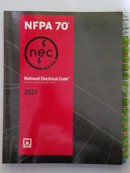 NFPA 70: National Electrical Code (NEC) Softbound, 2017 Edition Highlighted and Tabbed  [Ultimate]