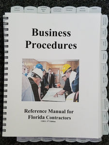 Florida GITS Business Procedures 3rd Ed 2011; Highlighted & Tabbed