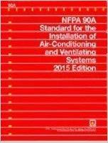 NFPA 90A Installation of Air Conditioning and Ventilating Systems, 2015
