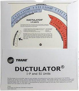 Trane Ductulator, 1976 or later