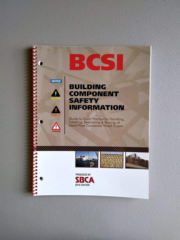 Building Component Safety Information Book (BCSI) [2018]