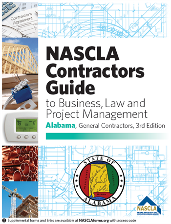 Alabama NASCLA Business, and Project Management for Contractors, General Contractors, 3rd Edition
