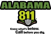Alabama 1Call-Dig Safety: AL Act 94-487 S.299