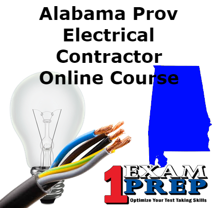 ProV State of Alabama Electrical Contractor - Online Exam Prep Course