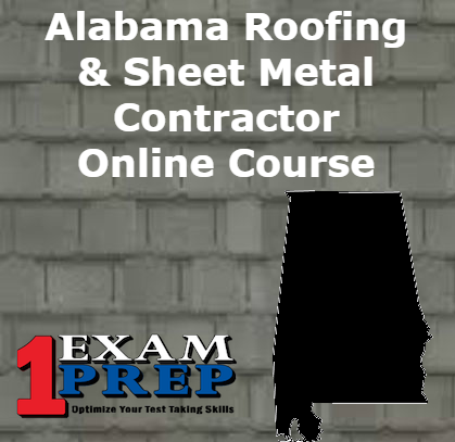 Alabama Roofing and Sheet Metal Contractor Course