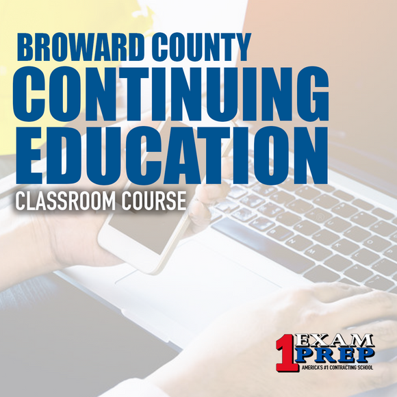 Broward County 4 hr Continuing Education - Classroom