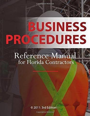 GITS Business Procedures Exam Book Set; Highlighted & Tabbed - Broward County