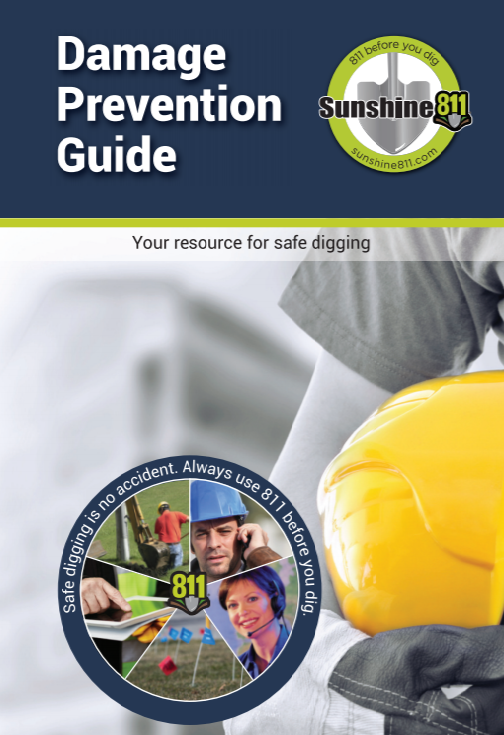 Damage Prevention Guide (includes FL Statute Ch. 556 Underground Facility Damage Prevention and Safety Act), 2018