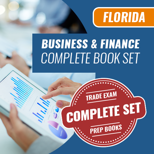 Florida State Business and Finance Exam Complete Book Set