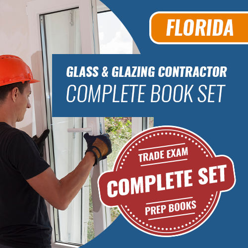 Florida Glass and Glazing Contractor Complete Book Set - Trade Books