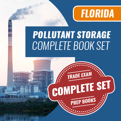 Florida Pollutant Storage Contractor Exam Complete Book Set - Trade Books