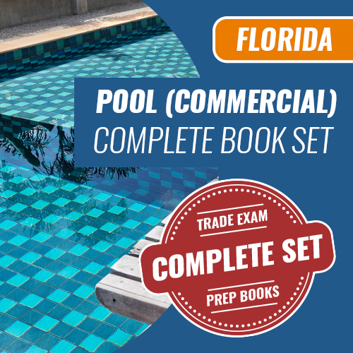 Florida Commercial Pool Contractor Exam Complete Book Set