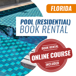 Florida Residential Pool Contractor Exam (Book Rental)