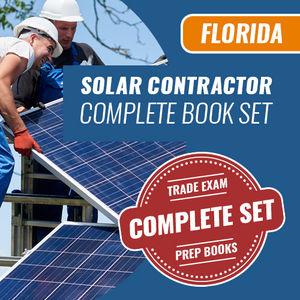 Florida Solar Contractor Exam Complete Book Set - Trade Books