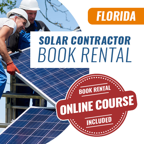 Solar Contractor License Exam Book Rental