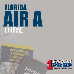Florida Air A or B Contractors Trade Knowledge - Online Exam Prep Course Cram - PEARSON VUE