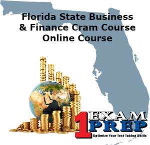 Florida Business - Finance Computer Based Examination CBT - Online Exam Prep Course Cram - Pearson Vue